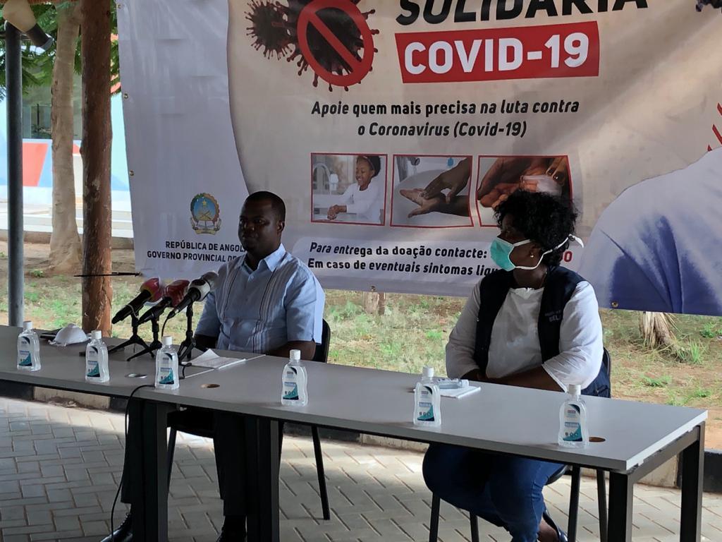 Projeto Luanda solidária